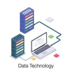 Database technology vector