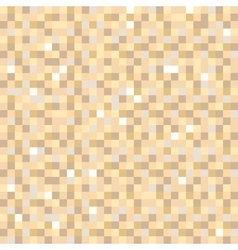 Digital pixel brown seamless pattern background vector image