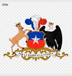 Emblem chile vector