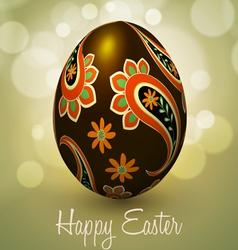 Happy Easter Egg vector