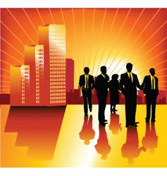 morning business vector image