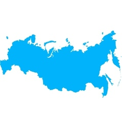 Russian Federation Map vector image
