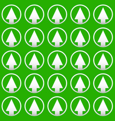 Simple pine tree repeatable pattern editable vector