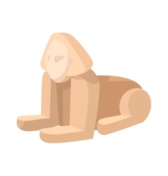 Sphinx icon cartoon style vector