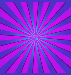 violet radial retro background violet and blue vector image