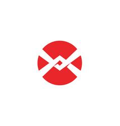 X logo template icon design vector