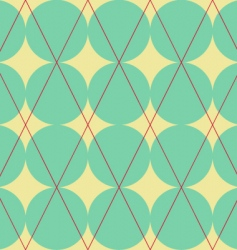 diamond and circles texture vector image