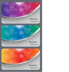 Brochure business card vector image vector image