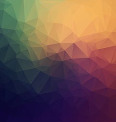 Abstract colorful Geometric Background for Design vector image