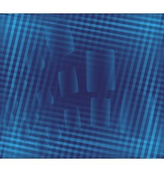 Blue background with stripe pattern vector