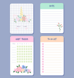 Calendar days organizers weekly planner agenda vector