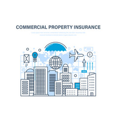 Commercial property insurance crediting vector