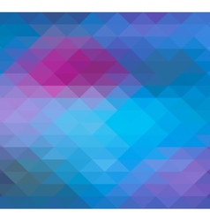 Geometric Triangle neon background pattern vector image vector image