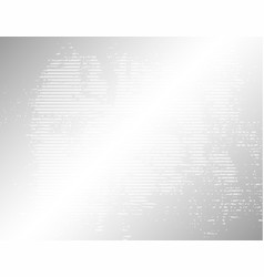 gray stripped grunge background vector image