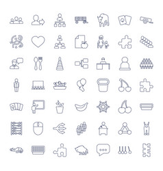 Group icons vector