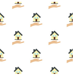 House logo flat style vector