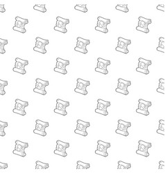 map pattern seamless vector image