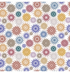 Native style background vector image