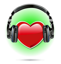 i love music 2 vector image vector image