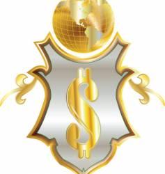 money emblem vector image