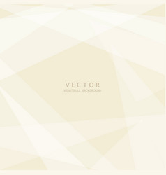 abstract light brown geometric background vector image