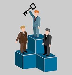 Business success concept vector image