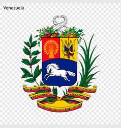 Emblem of venezuela vector