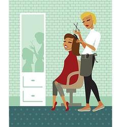 Hair salon vector