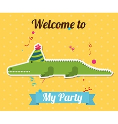 party invitation vector image