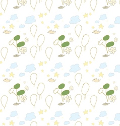 Seamless pattern handdrawing vector