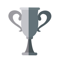 trophy winner sport award champion vector image