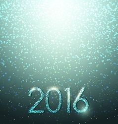 New Years shining background Christmas inscription vector image