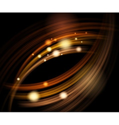 Abstract energy waves vector