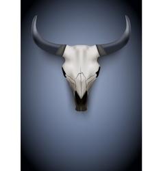 Animal skull poster vector