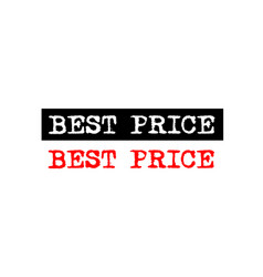 Best price rubber stamp badge with typewriter set vector
