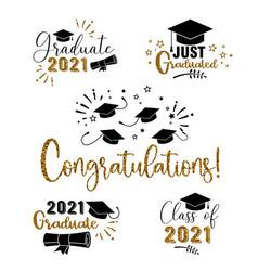 graduation congratulations at school university vector image