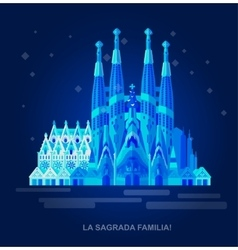 La Sagrada Familia - the vector image