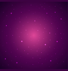space background with stras starry sky vector image