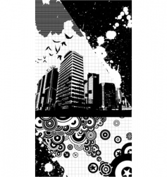dark urban vector image vector image