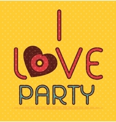 Music party festival vector image