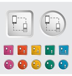 Phone sync vector image
