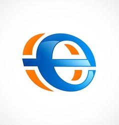 Internet symbol explore logo vector