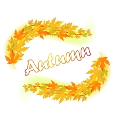 Autumn Fall leaf vector image