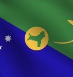 Christmas Island flag vector