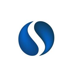 initial s monogram logo designs inspiration vector image