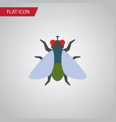 Isolated buzz flat icon fly element can be vector