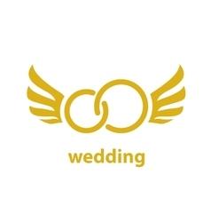 Logo for wedding vector
