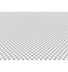 Perspective Checkered Background vector image