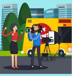 reporter orthogonal composition vector image