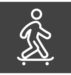 Skate Boarding vector